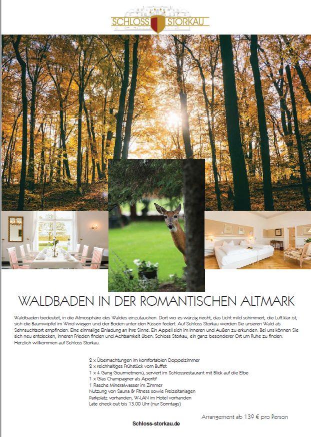 Waldbaden in der romantischen Altmark