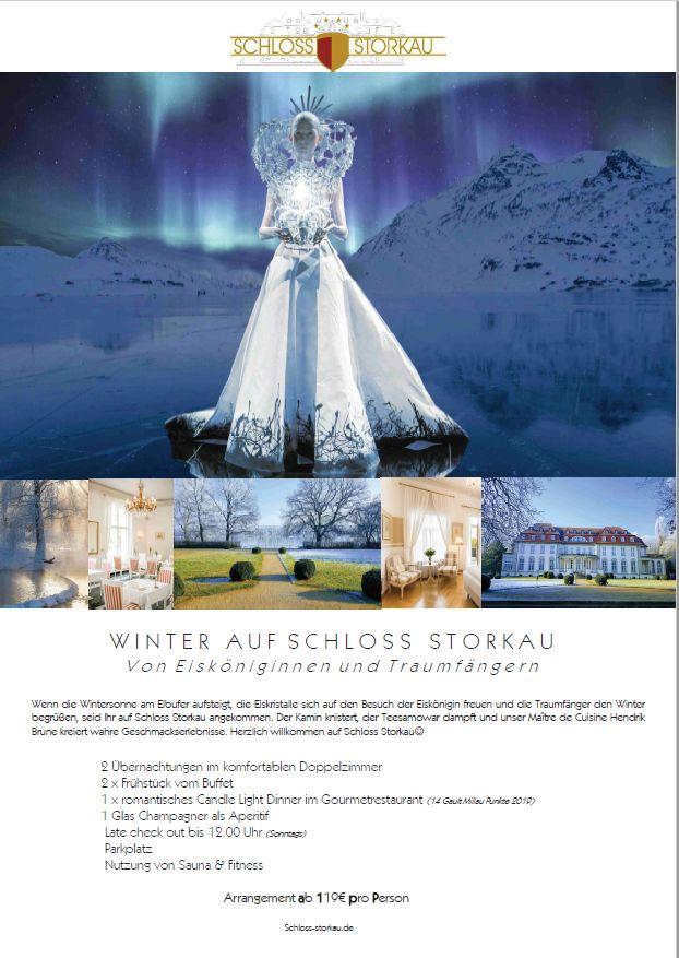 Winter im Schloss - VON EISKÖNIGINNEN UND TRAUMFÄNGERN.